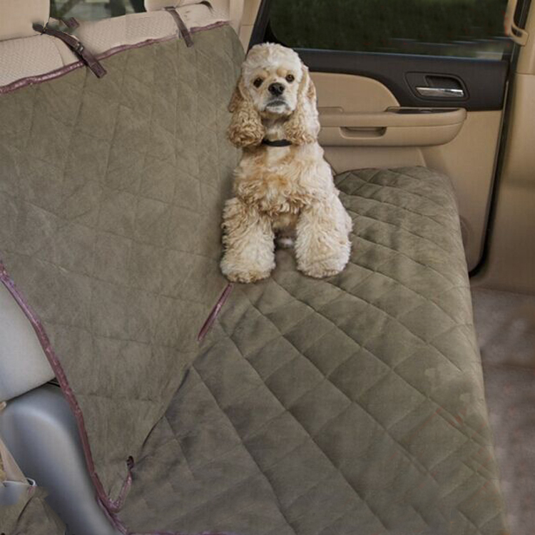Fashion Suede fur car seat cover design for pets