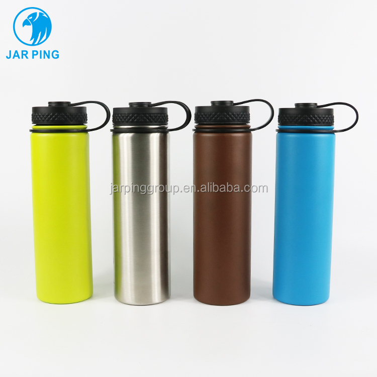 Yongkang factory price 21 oz double wall Vacuum Sealed flask Insulated <strong>Stainless</strong> <strong>Steel</strong> Thermos Water Bottle JP-<strong>1010</strong>-67