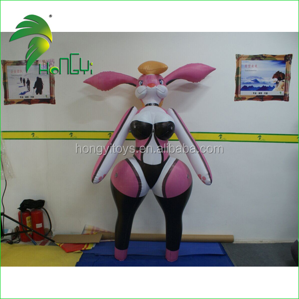Inflatable sexy girl rabbit Cartoon Toy