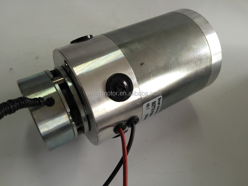 O.D90mm heavy duty pm dc brushed motor, continuously running, rated torque 1.8Nm, over 500w