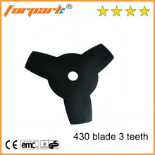 Forpark garden tools 3 teeth diamond- shaped blade for 40-5 brush cutter