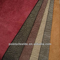 "100%POLYESTER SUEDE FABRIC 105DX200D 150GSM 57/58""FOR SOFA"