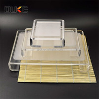 customized hot sell acrylic display cases for towel