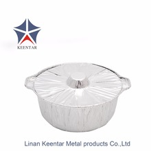 10 inch disposable aluminum foil pot