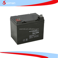 VRLA Battery 12v 33ah pure lead acid with long life technology