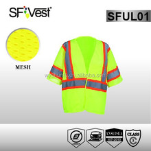 2015 hot sale china safety vest with pockets , ANSI/ISEA 107-2010