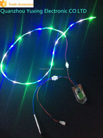 20 Lights With Same Wires Length Waterproof Flashing Shoe Lights