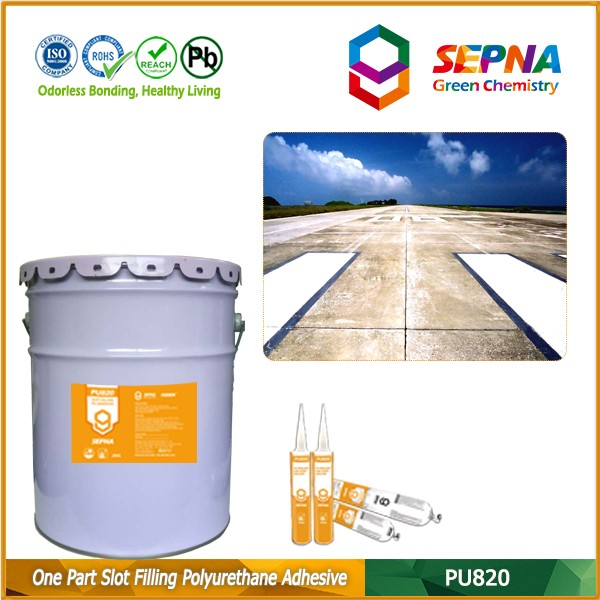 joint protection and crack repair self leveling compound settlement joint sealant
