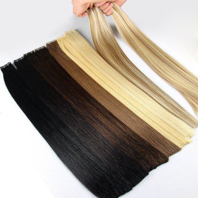 High Top Quality Piano Color 4818 Invisible Tape Hair Extensions