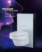 Compact laminated hpl panel dual flush concealed toilet water tank