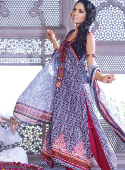 Al Karam Textiles Embroidered Lawn 2013 Collection Volume-2