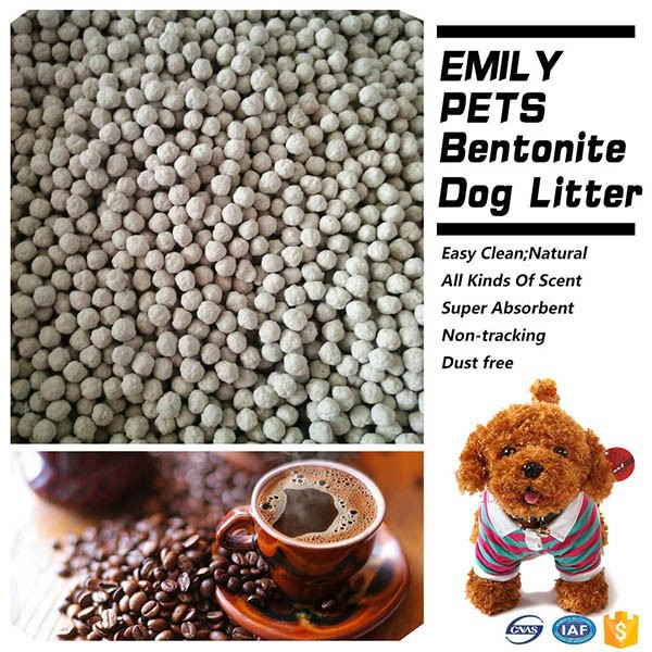 New Product Clumping Dog Litter Bentonite Dog Litter Coffee