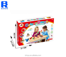 Promotion kids magnetic play dough for fun with plastic tools set with EN71