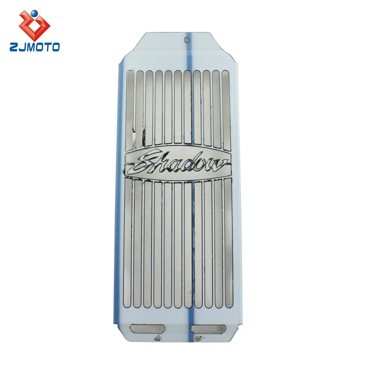 High Quality Motorcycle Parts Chrome Front Radiator Support Grille For Honda Shadow Aero VT400 / VT750 2004-2012