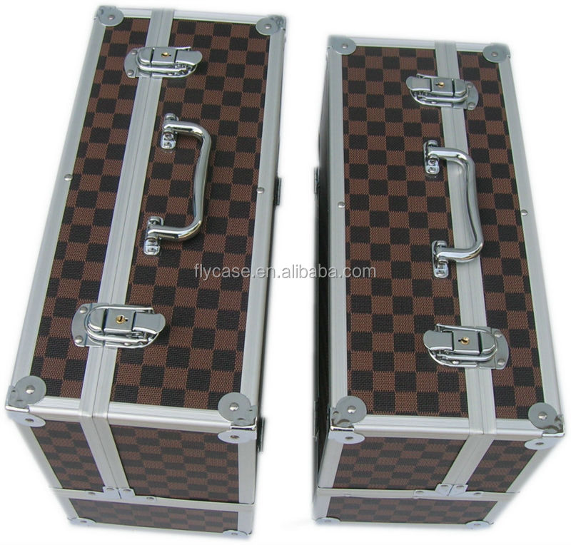 China supplier aluminum trolley case with music instrument aluminum case