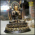 Tibetan cast bronze buddha,antique tibetan cast buddha statue sculpture
