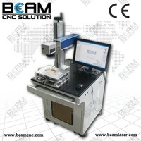 BCAMCNC fiber is widely used for glasses, apparatus, or art craft, , Fiber Laser Marking Machine