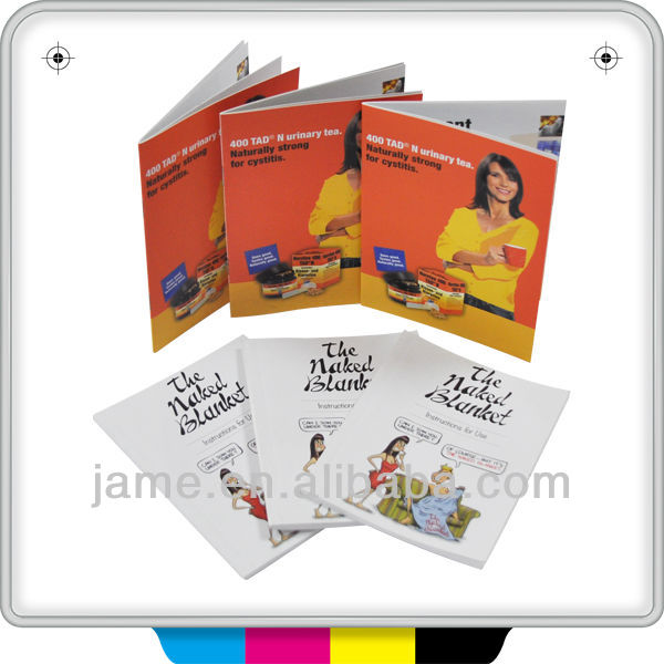 2013 Promotional product designing booklets printing/catalugue/books printing