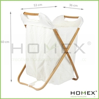 Bathroom Laundry Basket/Nice Look For Laundry Hamper/Homex_BSCI