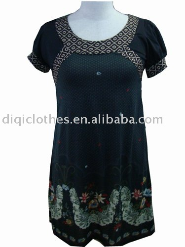 hot sale ! Newest women's dresses 2012,XXL size ,plus zize ,EU/RU SIZE