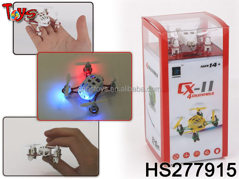 Hot sales 2.4G 4CH 6-axis gyro rolling very mini RC quadcopter with 3 speed for adjustment