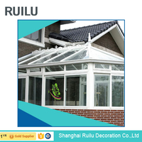 KE10 Modern House Glass Sun Room Nice Quality
