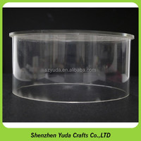 China Factory Wholesale Crystal Clear Round
