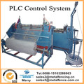 semi-automatic pvc coated diamond hole wire mesh making machine