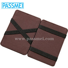 New Magic Wallet slim money clip credit card holder ID business mens leather