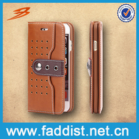 High Quality Brand Product Best Leather Three Different Colors Stylish Fram Handphone Casing Case Cover