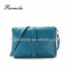 Candy color lady handbags cow leather shoulder bag