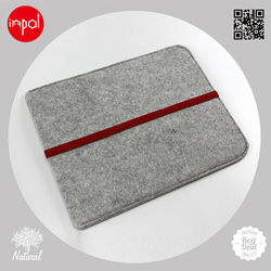 2013 lightweight for ipad 1/2/3/4 customized wool felt tablet cover