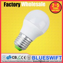 G50 G45 E27 LED Bulb with PC Diffusuer Led Light bulb G9 Lamp