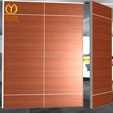 Fire Proof Luxury Space Divider Sliding Door Movable Partitions