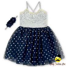 New Stylish Sequin Tulle Princess Cute Kawaii Infant Clothing Baby Girls Strapless Party Wear Dress