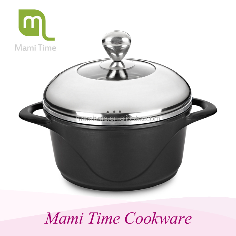 2015 hot sale eternal die-cast cookware non-stick coated with high quality