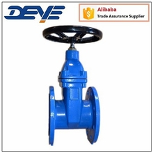 DIN F4 Ductile Iron Sluice Gate Valve with EPDM seat