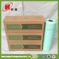 Opaque and Soft Hardness elastic plastic packaging silo wrap folie