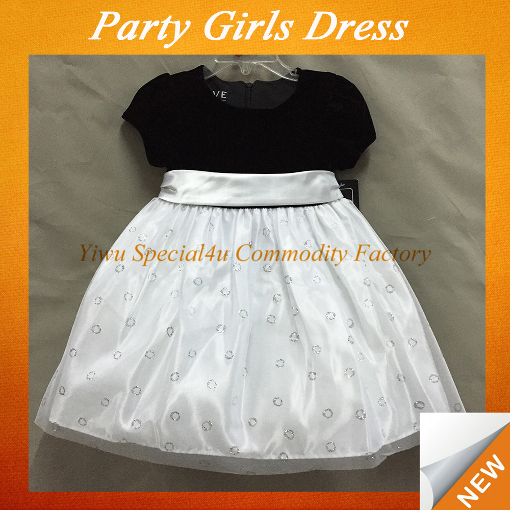 SPSA-142 girls party dresses children frocks designs kids dresses kids fashion dresses pictures