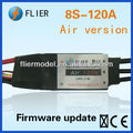 Electric speed controller brushless ESC 8S and 120A for RC airplane