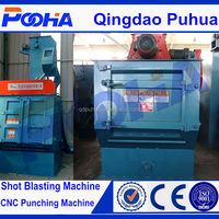 Q32 automatic sandblasting machine portable sand blasting machine