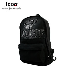 Knitted fabric outdoor popular casual student backpack college school bag