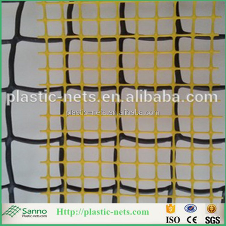 Plastic garden mesh fence roll/grass protection mesh /tree guard net