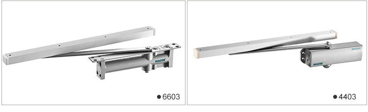 commercial hydraulic automatic hold open heavy duty door closer