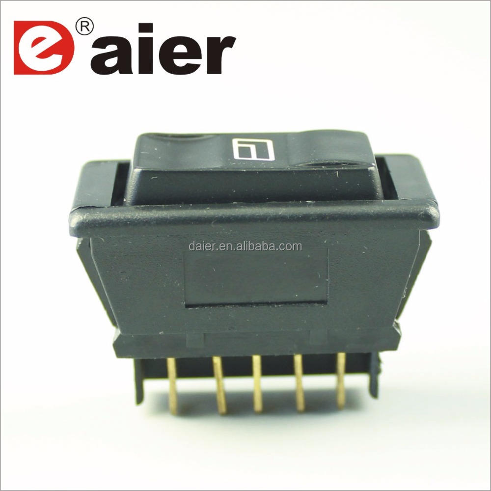 Power Window Switch For Car Auto Dpdt 5p With Led - Buy Power Window ...