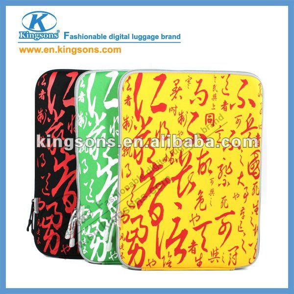 hot! high quality 14 inch laptop sleeve, neoprene waterproof