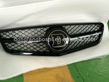 car front grille For Mercedes Benz C Class W204 change to Brabus grille