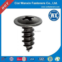 Manufacture grey phophated screw in grommets