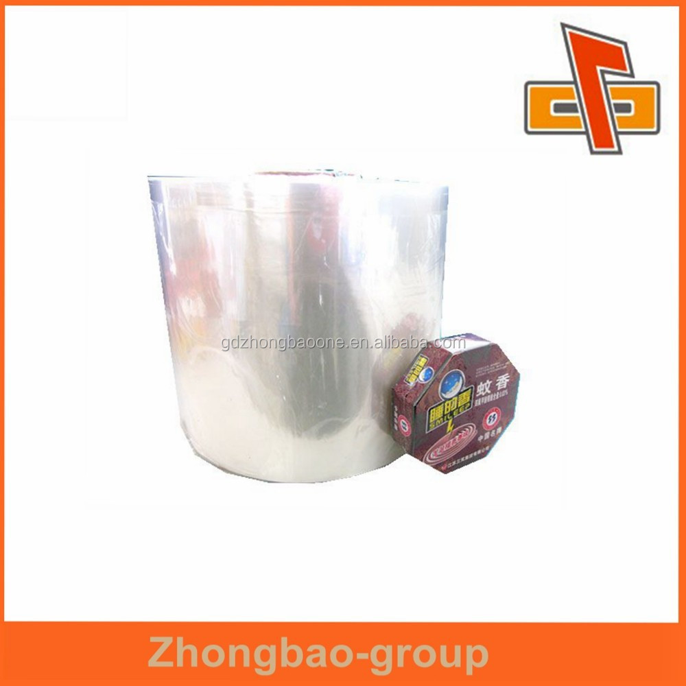 Made in china Polypropylene material bopp thermal lamination film for mosquito-repellent incense packing