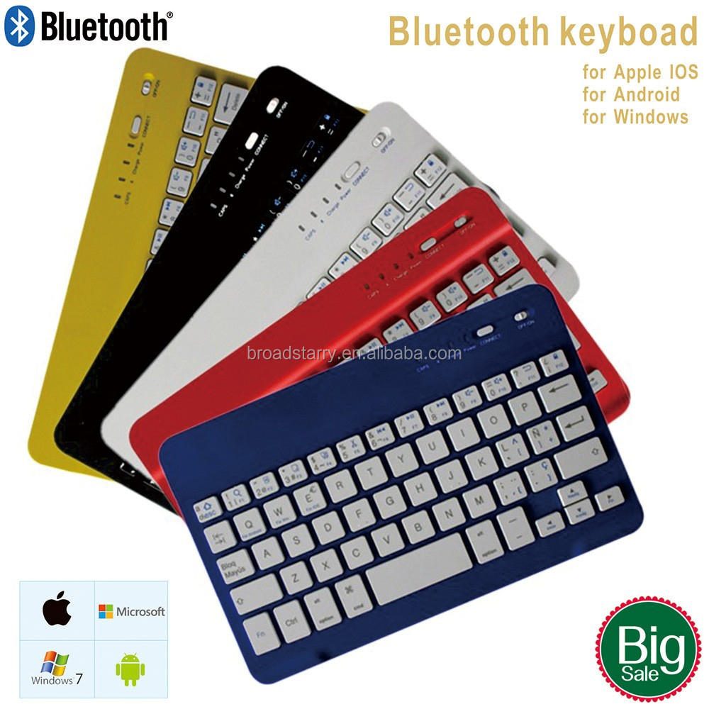 Fast Delivery Mini Ultra Slim for IOS Android Win10 Bluetooth Wireless Keyboard